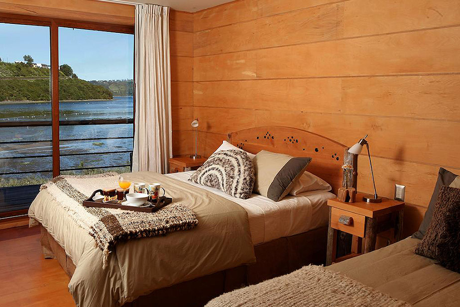 Double Room with Extra Bed and Sea View Palafito 1326 Boutique Hotel Chiloe Island