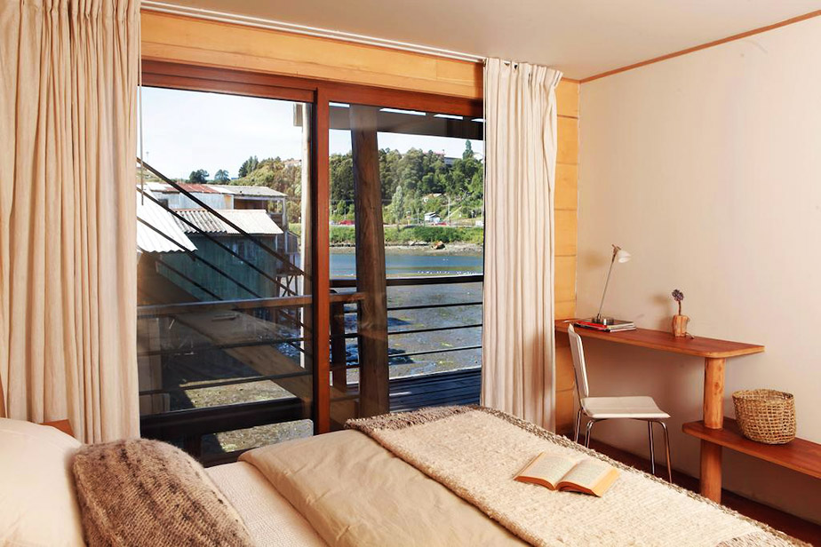 Double Room with Lateral View Palafito 1326 Boutique Hotel Chiloe Island